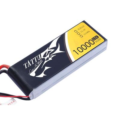 Gens Ace 10000mAh 11,1V 15C 3S1P TATTU Lipo Battery Pack