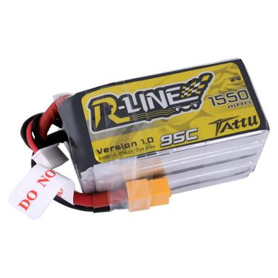 Gens Ace  1550mAh 18.5V 95C 5S1P TATTU Lipo Battery Pack