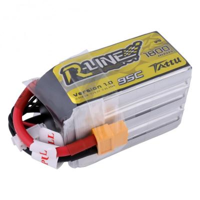 Gens Ace  1800mAh 18.5V 95C 5S1P TATTU Lipo Battery Pack