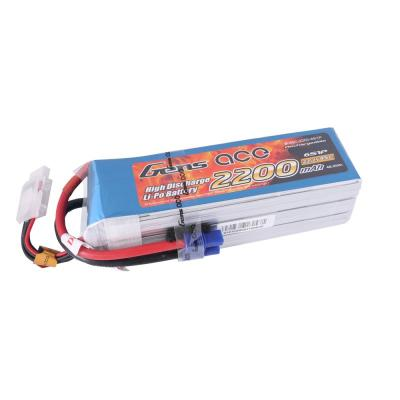 Gens ace  2200mAh 22,2V 45C 6S1P Lipo Battery Pack