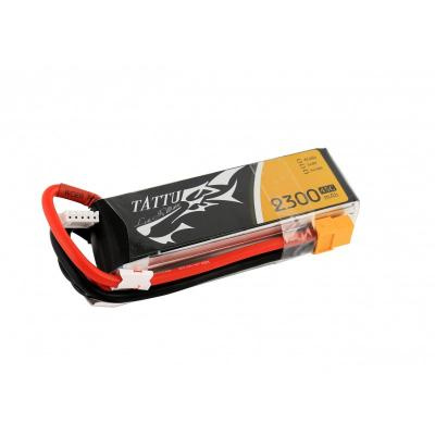 Gens Ace  2300mAh 14.8V 45C 4S1P TATTU Lipo Battery Pack