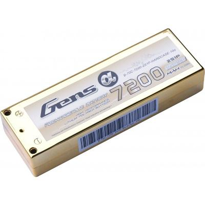 Gens ace 7200mAh 7.4V 70C 2S1P Lipo Hard Case-10a Battery Pack