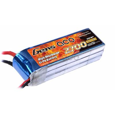 Gens ace  2700mAh 11,1V 25C 3S1P Lipo Battery Pack