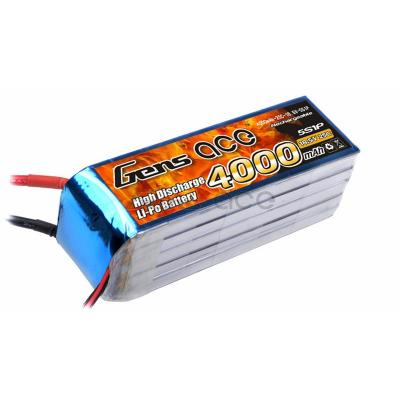 Gens ace  4000mAh 18,5V 25C 5S1P Lipo Battery Pack