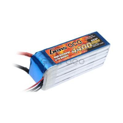 Gens ace  4400mAh 22,2V 35C 6S1P Lipo Battery Pack