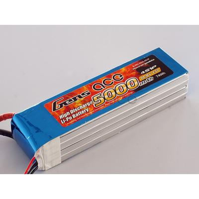 Gens ace  5000mAh 14,8V 45C 4S1P Lipo Battery Pack