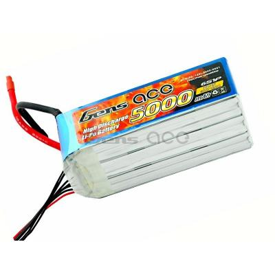 Gens ace  5000mAh 22,2V 60C 6S1P Lipo Battery Pack