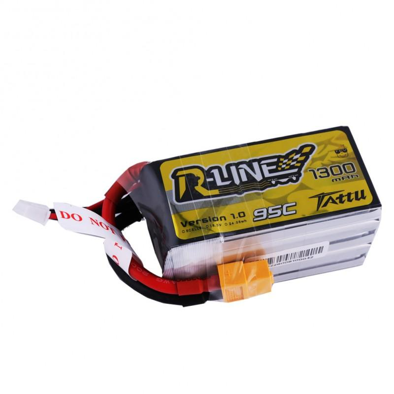 Gens Ace  1300mAh 18.5V 95C 5S1P TATTU Lipo Battery Pack